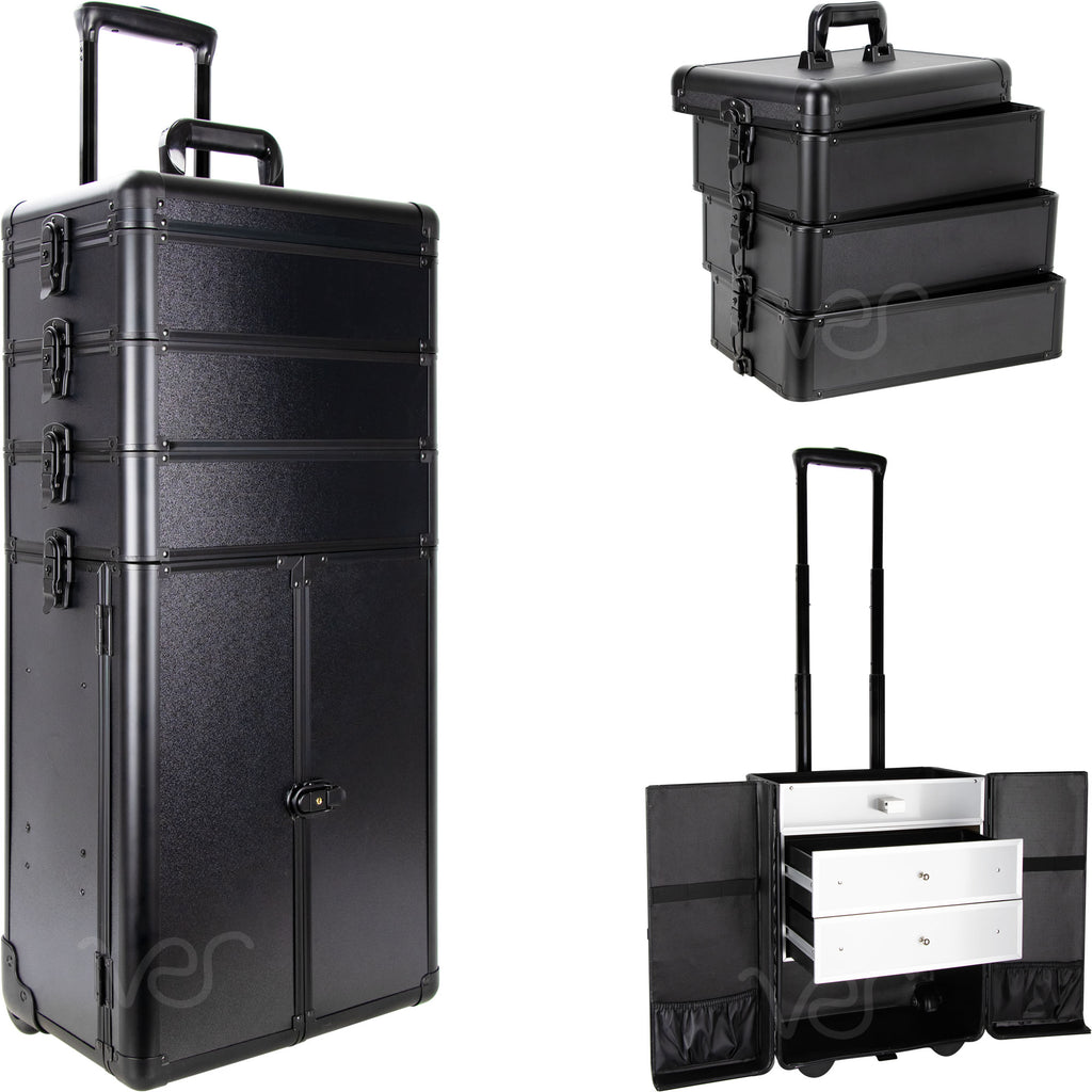 Colonne Rolling Makeup Case by Sunrise-I3366 - eBest Makeup Cases