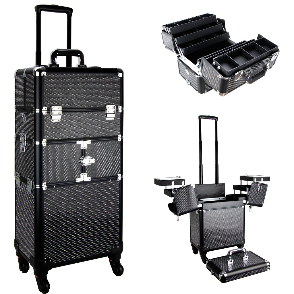De Mezo Rolling Makeup Case by Ver Beauty-VT017 - eBest Makeup Cases