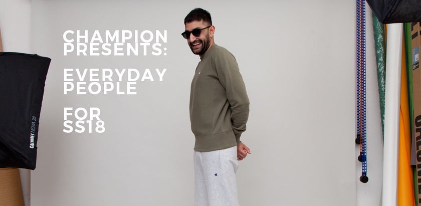 Champion Presents 'Everyday People' for SS18 | Number Six
