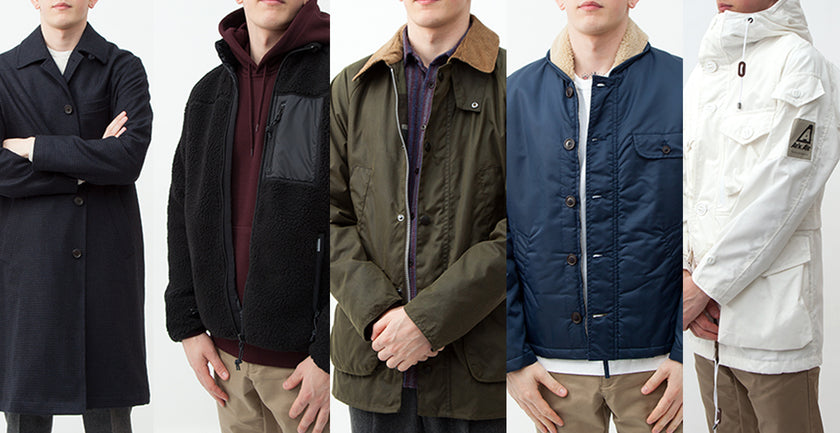 Our Top 5 Winter Jackets | Number Six Selects