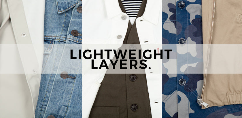 Number Six Selects: Lightweight Layers for SS18