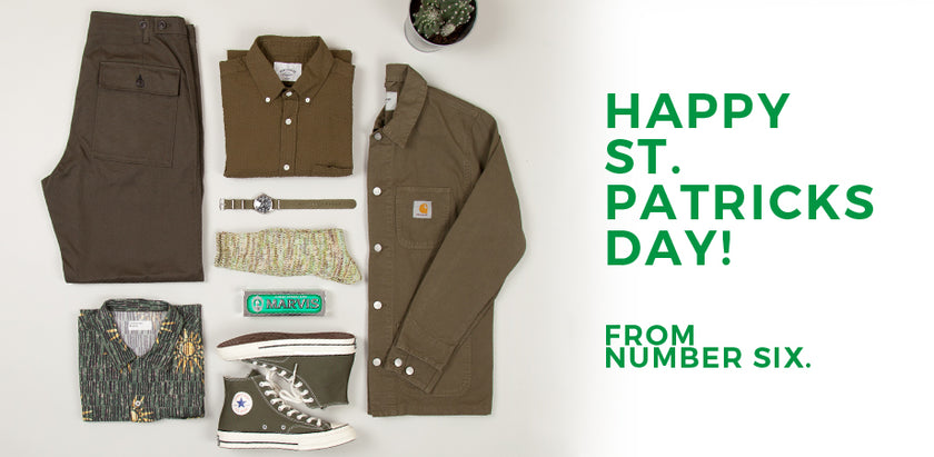 St. Patrick's Day from the Number Six Shelves
