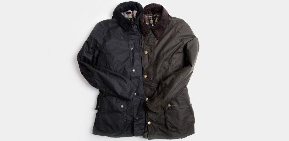 Barbour Wax Ashby Jackets