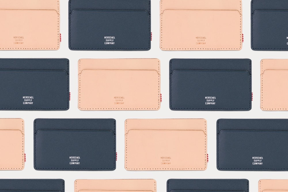 Herschel Studio Wallets at Number Six