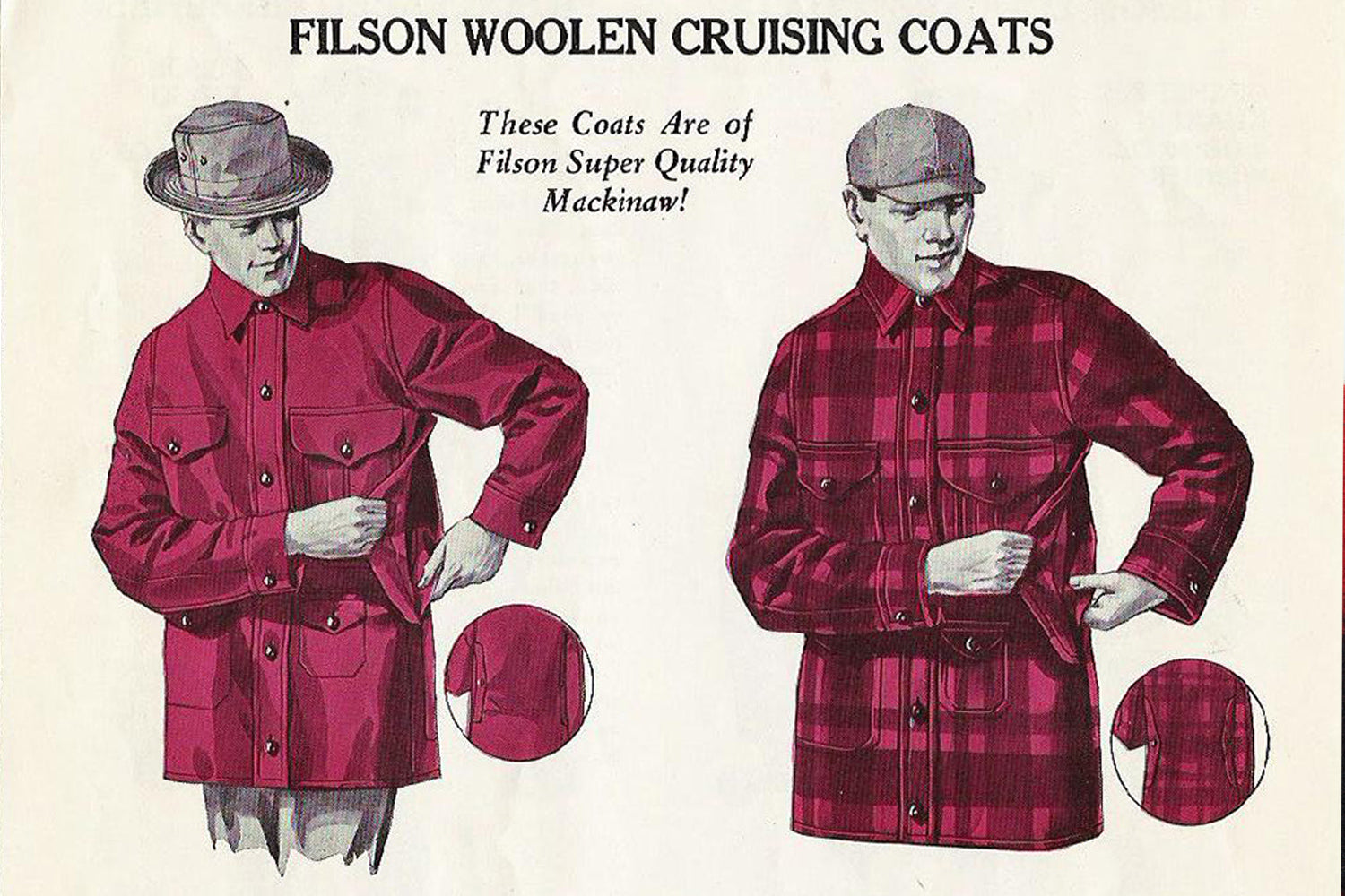 Filson Mackinaw Wool