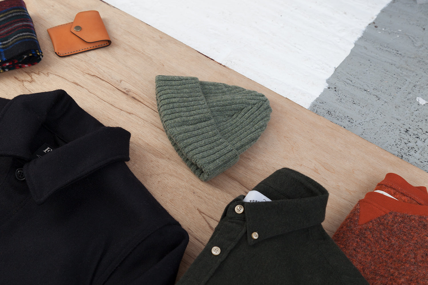 SIXES Jenner Beanie (Forest)