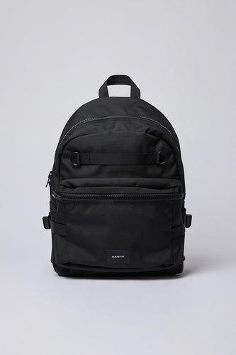 Sandqvist Elton Backpack (Black) Front