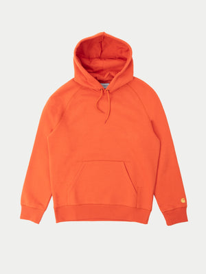 Carhartt Chase Hoodie (Brick Orange & Gold) 1