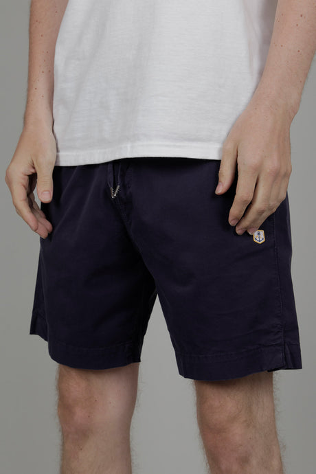 Armor Lux Heritage Shorts (Navy Blue) Front