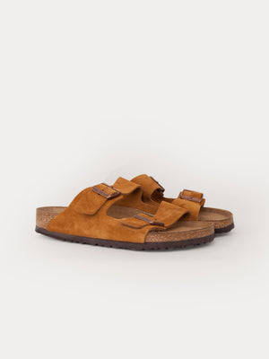 Birkenstock Arizona SFB (Mink Suede Leather)