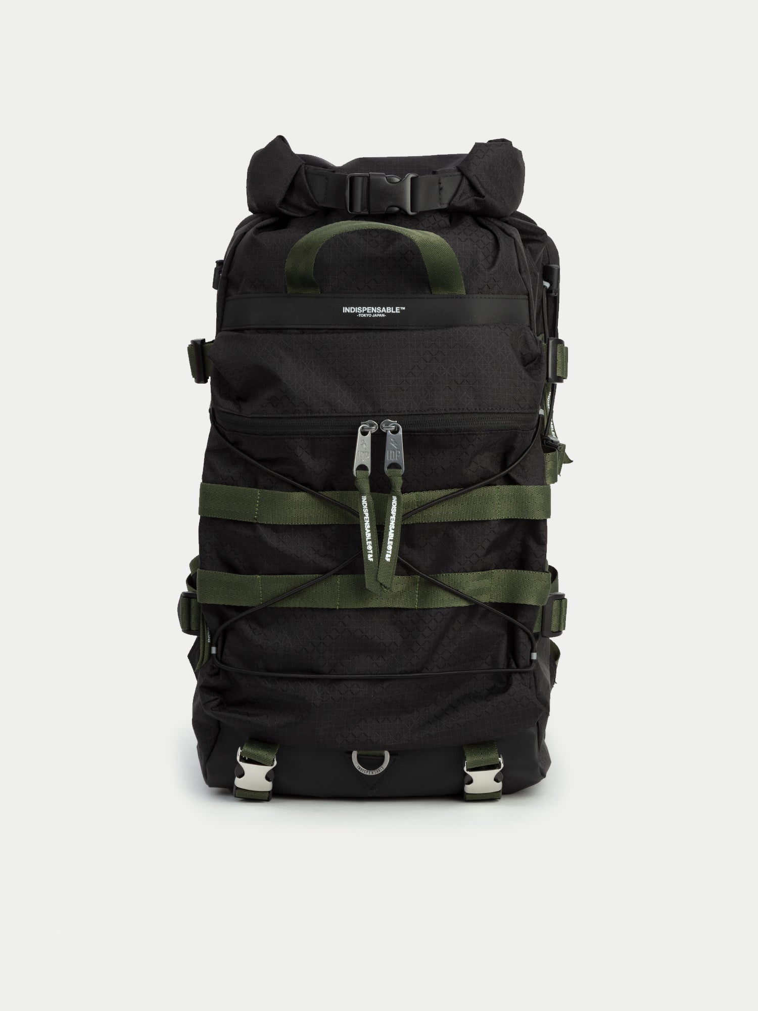 Indispensable Bags Radd Gridstop Backpack (Black) 1