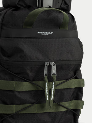 Indispensable Bags Radd Gridstop Backpack (Black) 2