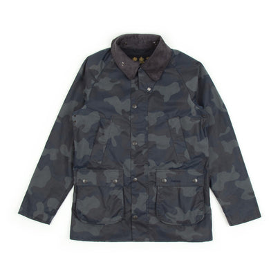 Barbour Camo SL Bedale (Navy)-2