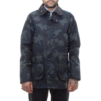 Barbour Camo SL Bedale (Navy)-1