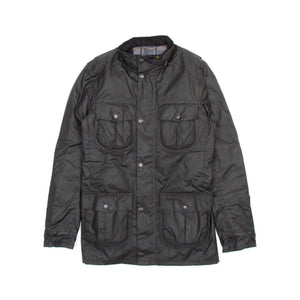 Barbour Corbridge Wax Jacket (Black) 2