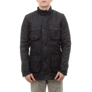 Barbour Corbridge Wax Jacket (Black) 1