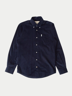 Barbour Cord Shirt (Navy) f1