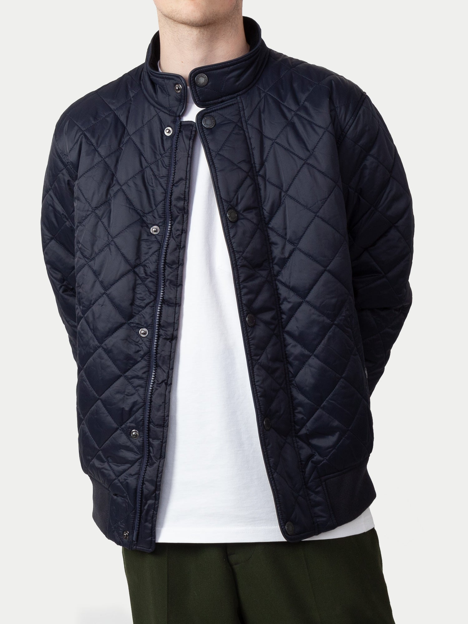 Barbour Edderton Quilt Jacket (Navy) 1