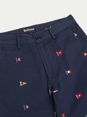 Barbour Flag Shorts (Navy)