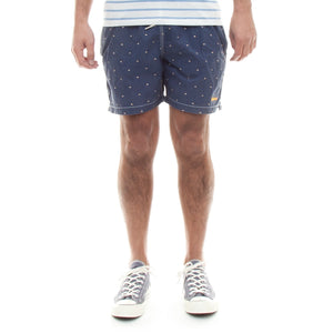 Barbour Flag Swim Short (Navy)-5