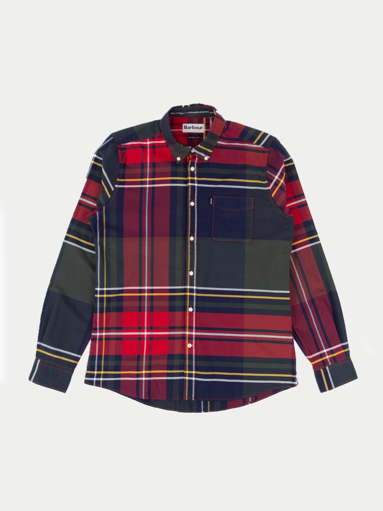 Barbour Highland Shirt (Navy) 1