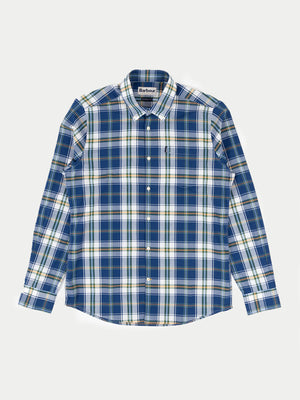 Barbour Jeff Shirt (Deep Blue) 1