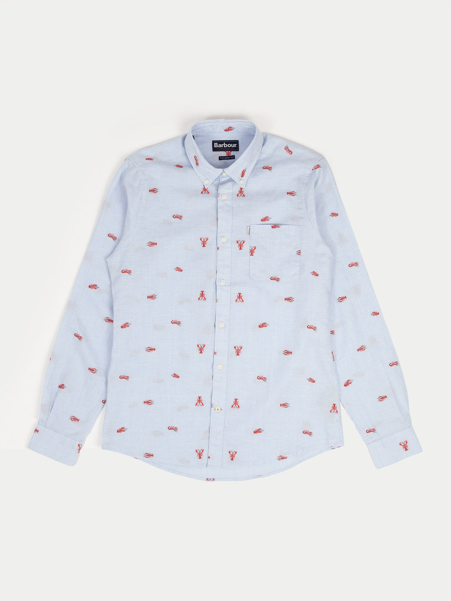 Barbour Lobster Shirt (Blue)