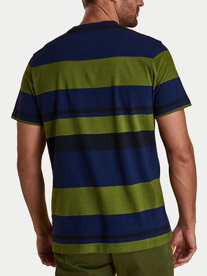 Barbour Longitude Stripe T-Shirt (Blue)