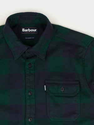 Barbour Marshal Check Shirt (Seaweed)