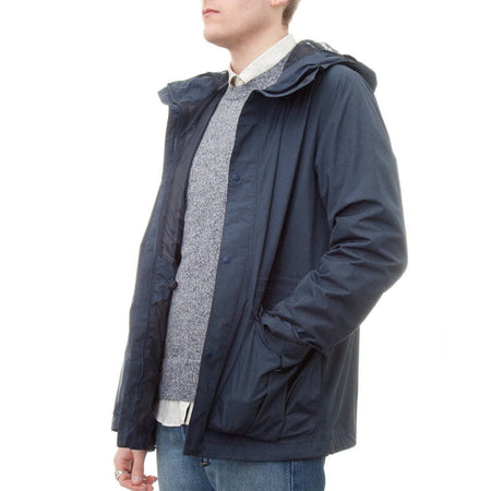 Barbour Mull Jacket (Navy Marl)