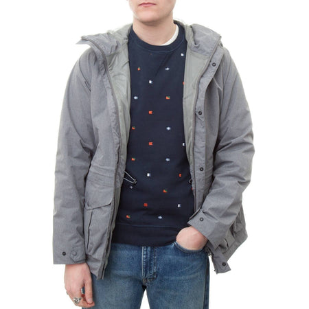 Barbour Mull Jacket (Grey Marl)