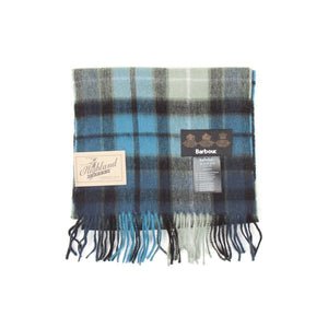 Barbour New Check Tartan Scarf (Black) 1