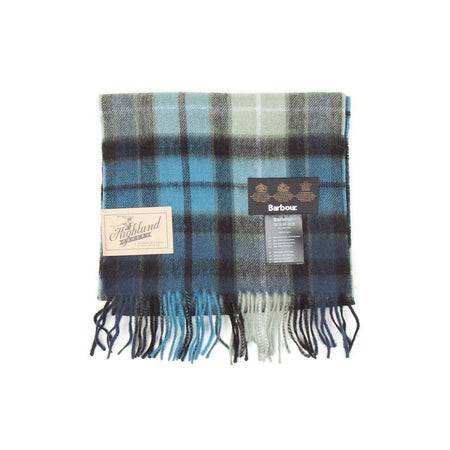 Barbour New Check Tartan Scarf (Black)