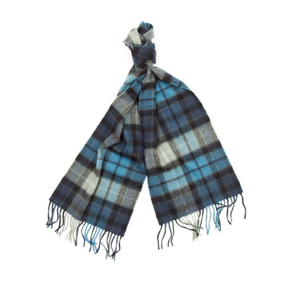 Barbour New Check Tartan Scarf (Black) 2