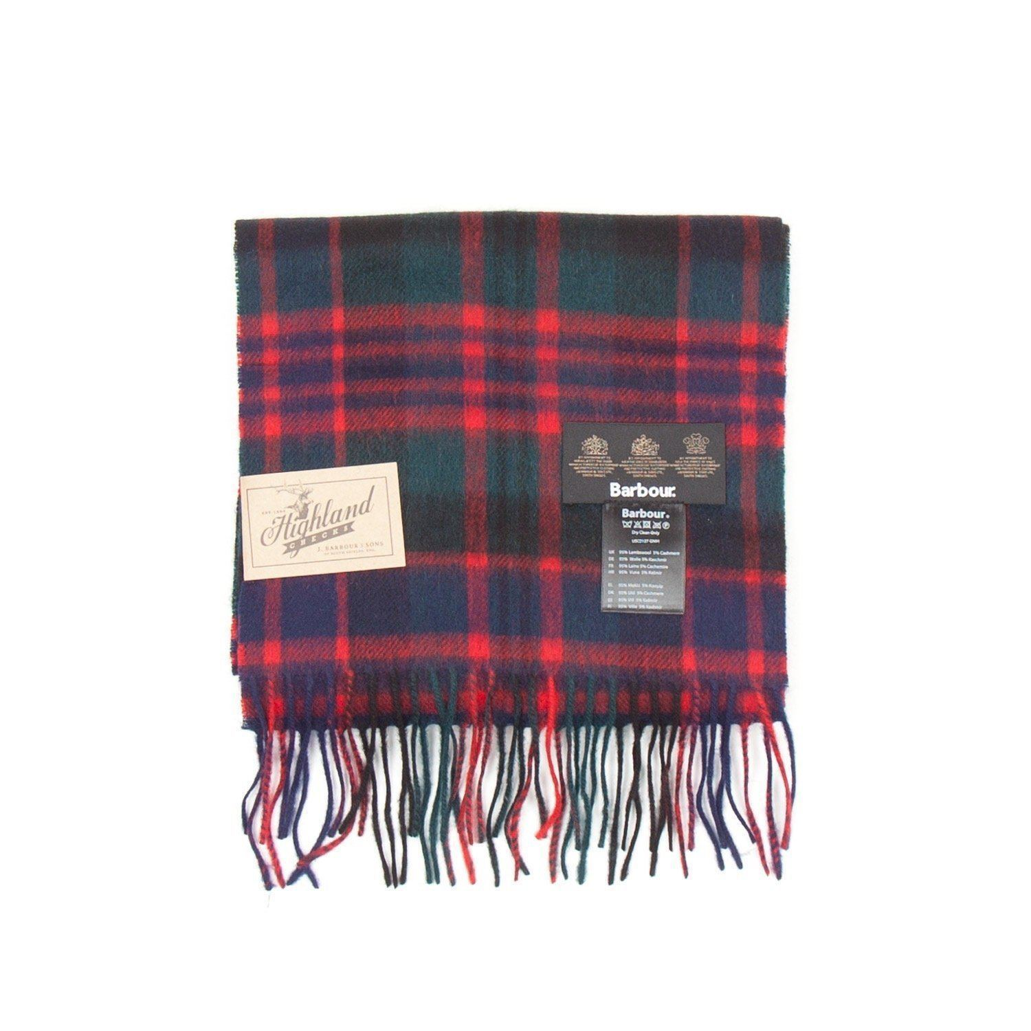 Barbour New Check Tartan Scarf (Macdonald)