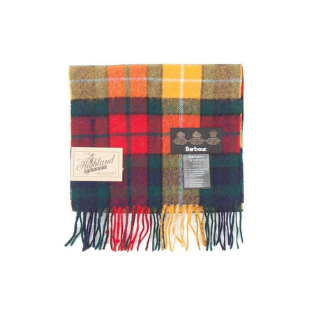 Barbour New Check Tartan Scarf (Modern) 1