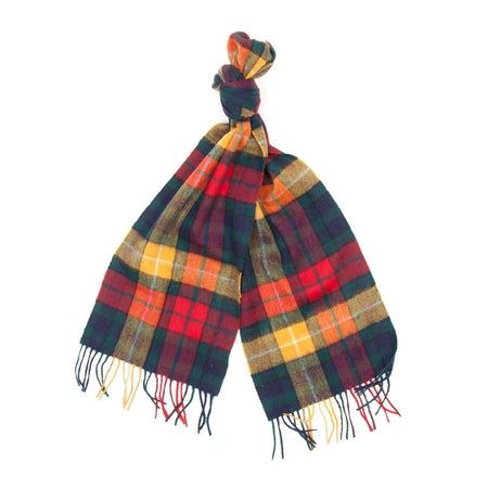 Barbour New Check Tartan Scarf (Modern) 2