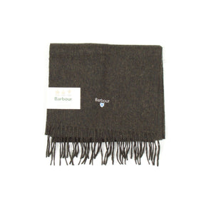 Barbour Plain Lambswool Scarf (Seaweed) 1