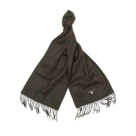 Barbour Plain Lambswool Scarf (Seaweed)