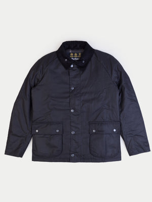 Barbour Strathyre Wax Jacket (Black)