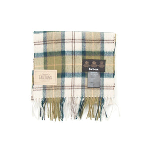 Barbour Tartan Lambswool Scarf (Ancient) 1