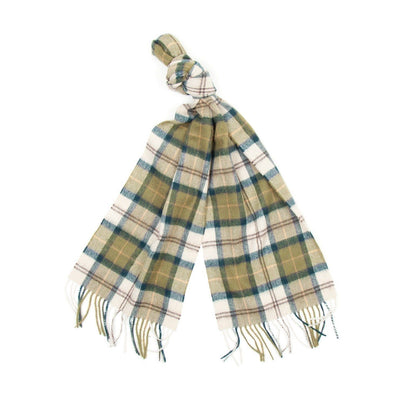 Barbour Tartan Lambswool Scarf (Ancient) 2