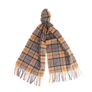 Barbour Tartan Lambswool Scarf (Dress) 2