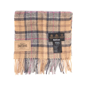 Barbour Tartan Lambswool Scarf (Dress) 1