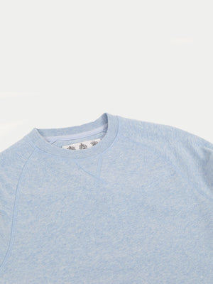 Barbour Tobin Crew Sweatshirt (Blue) 2