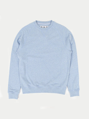 Barbour Tobin Crew Sweatshirt (Blue) 1