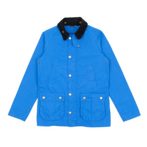 Barbour Washed Bedale Jacket (Cobalt Blue)-1