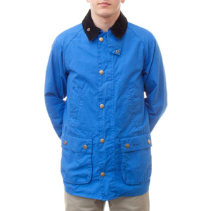 Barbour Washed Bedale Jacket (Cobalt Blue)-4