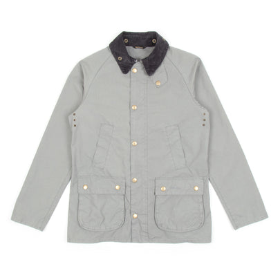 Barbour Washed Bedale Jacket (Grey)-1
