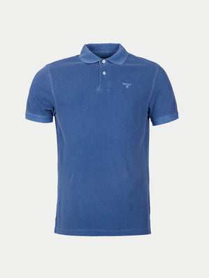 Barbour Washed Sports Polo (Blue)